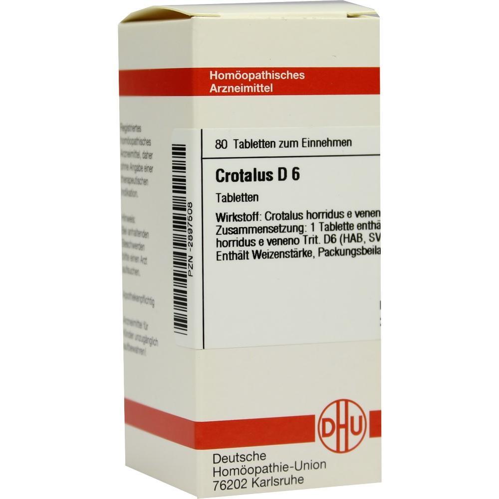 CROTALUS D 6 Tabletten