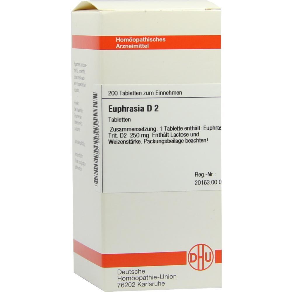 EUPHRASIA D 2 Tabletten