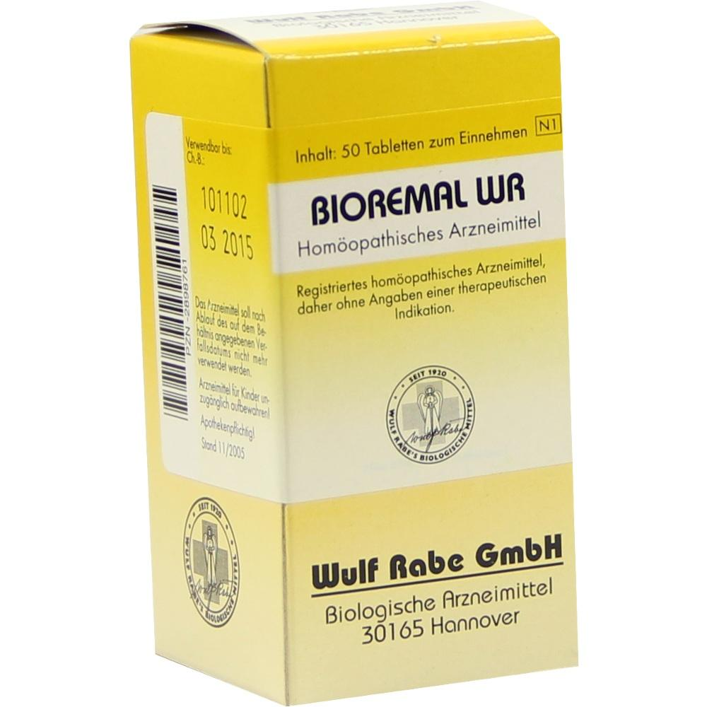02898761, Bioremal WR, 50 ST