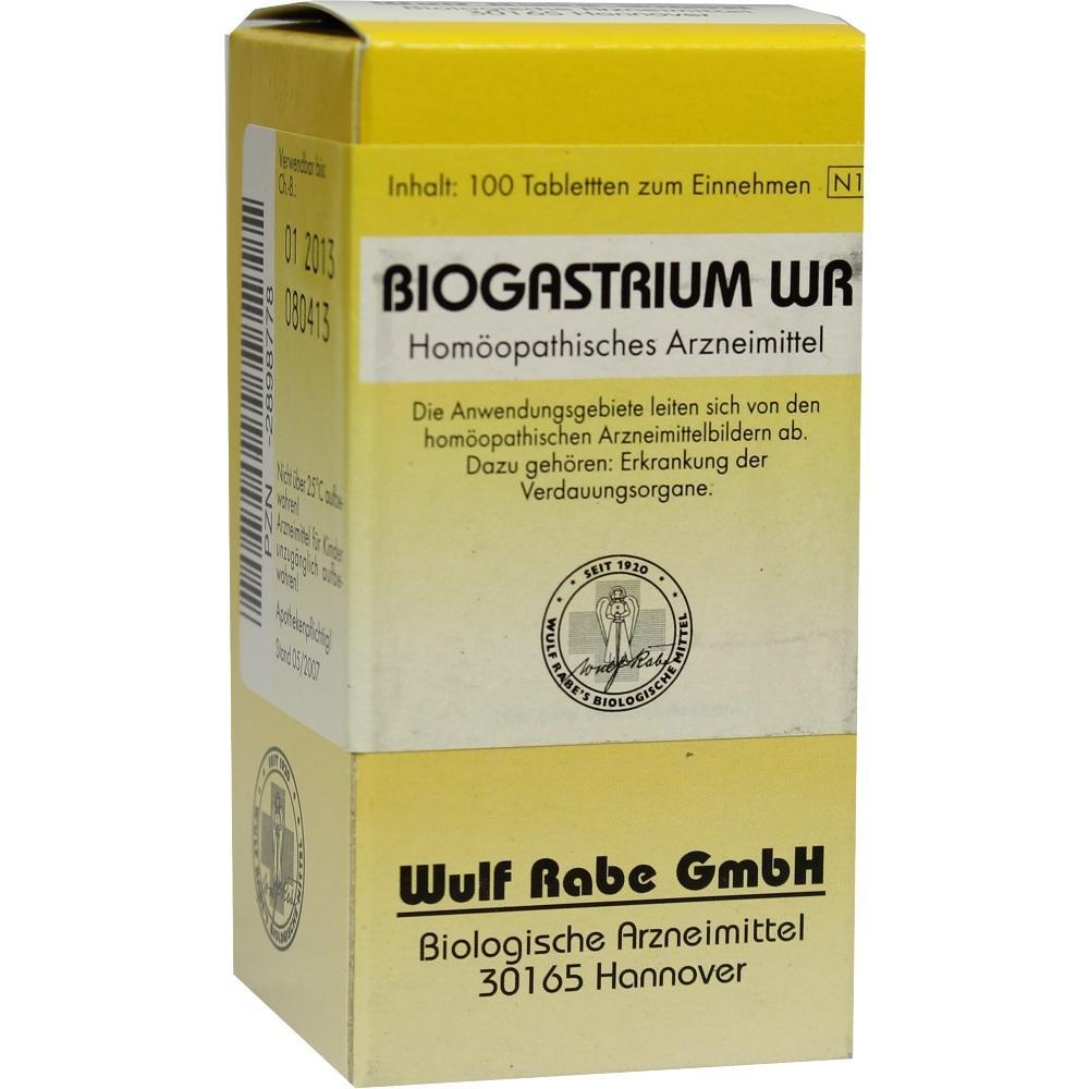 02898778, Biogastrium WR, 100 ST