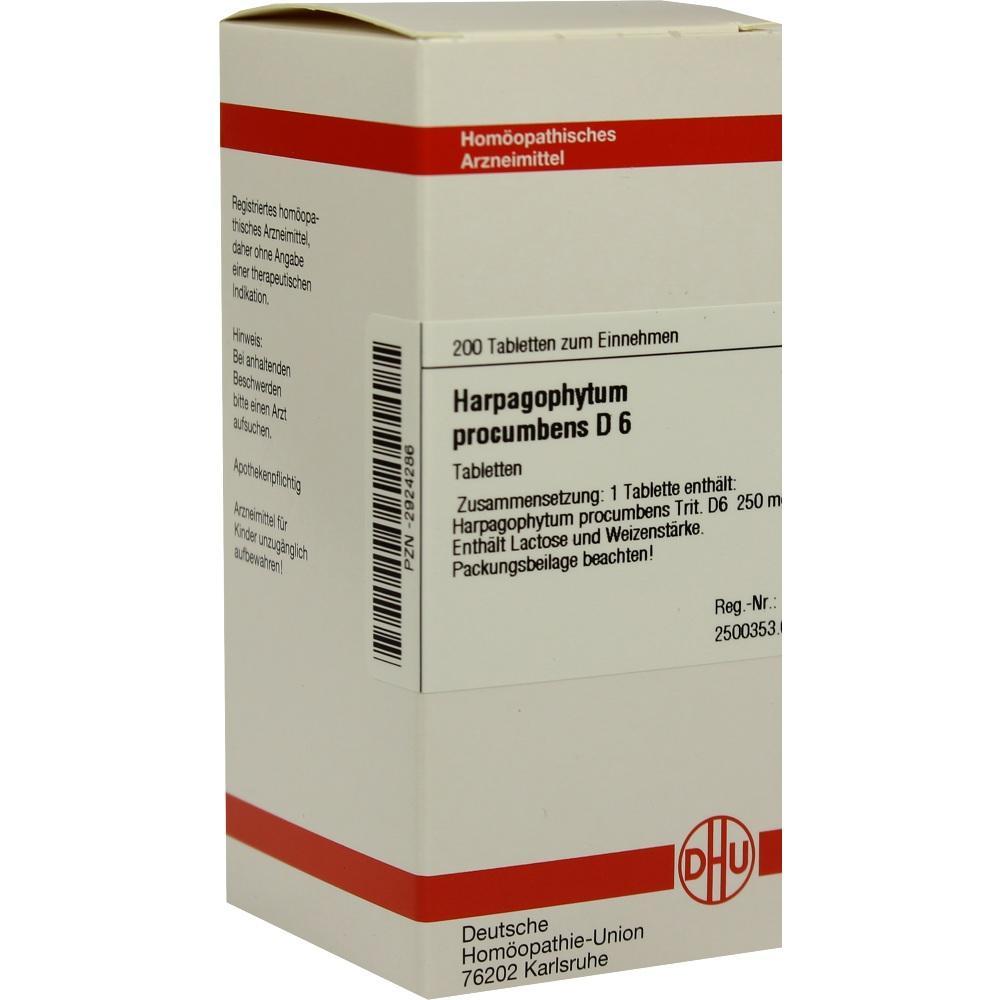 HARPAGOPHYTUM PROCUMBENS D 6 Tabletten