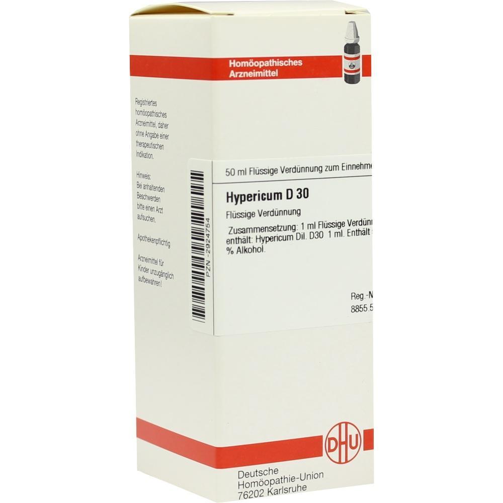 HYPERICUM D 30 Dilution