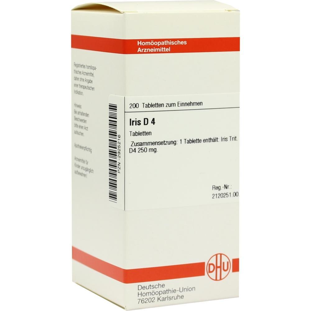 IRIS D 4 Tabletten