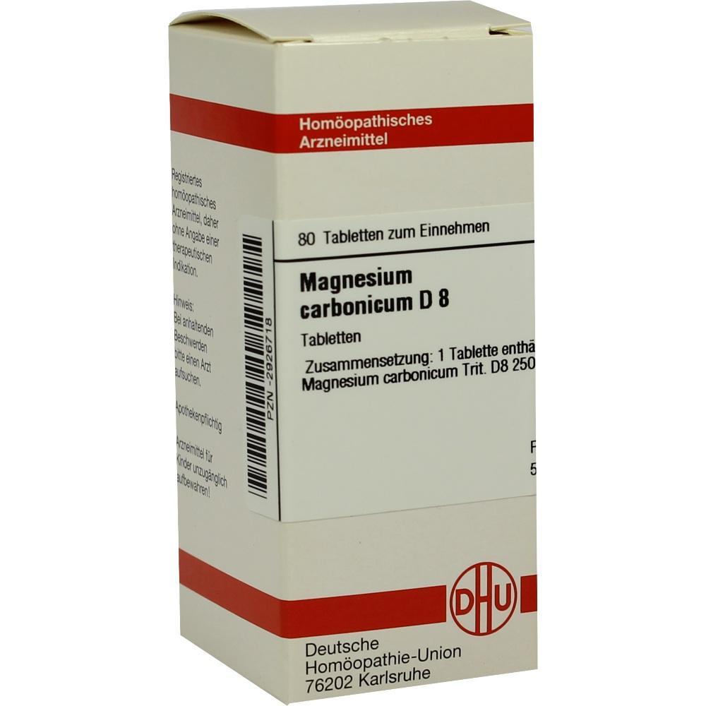 MAGNESIUM CARBONICUM D 8 Tabletten