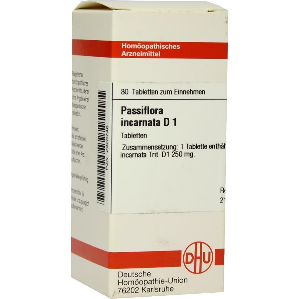PASSIFLORA INCARNATA D 1 Tabletten