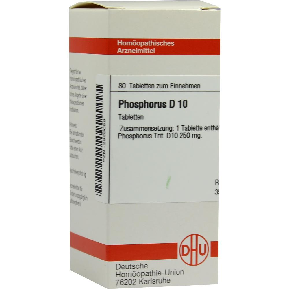 PHOSPHORUS D 10 Tabletten