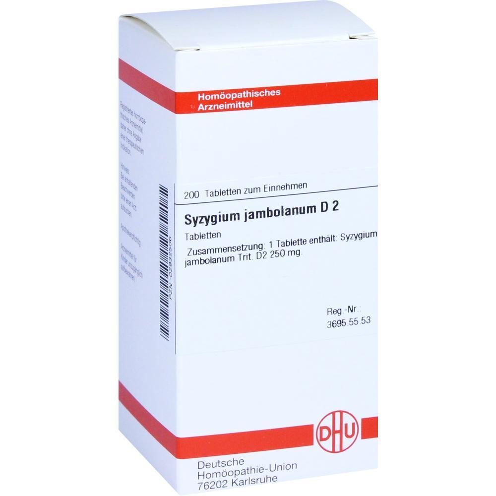 SYZYGIUM JAMBOLANUM D 2 Tabletten