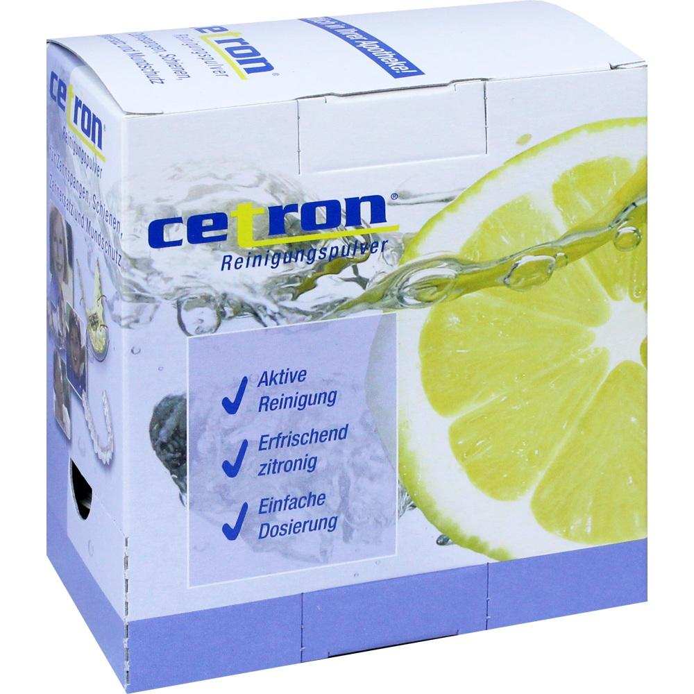 03040201, Cetron Reinigungspulver, 25X15 G