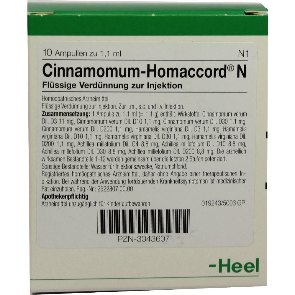 CINNAMOMUM HOMACCORD N Ampullen