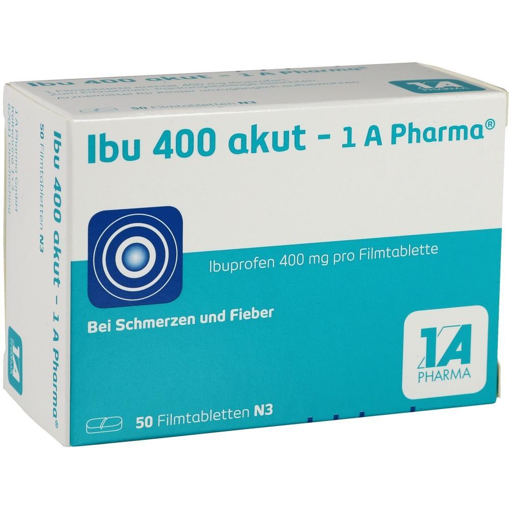 03045316, Ibu 400 akut - 1A Pharma, 50 ST