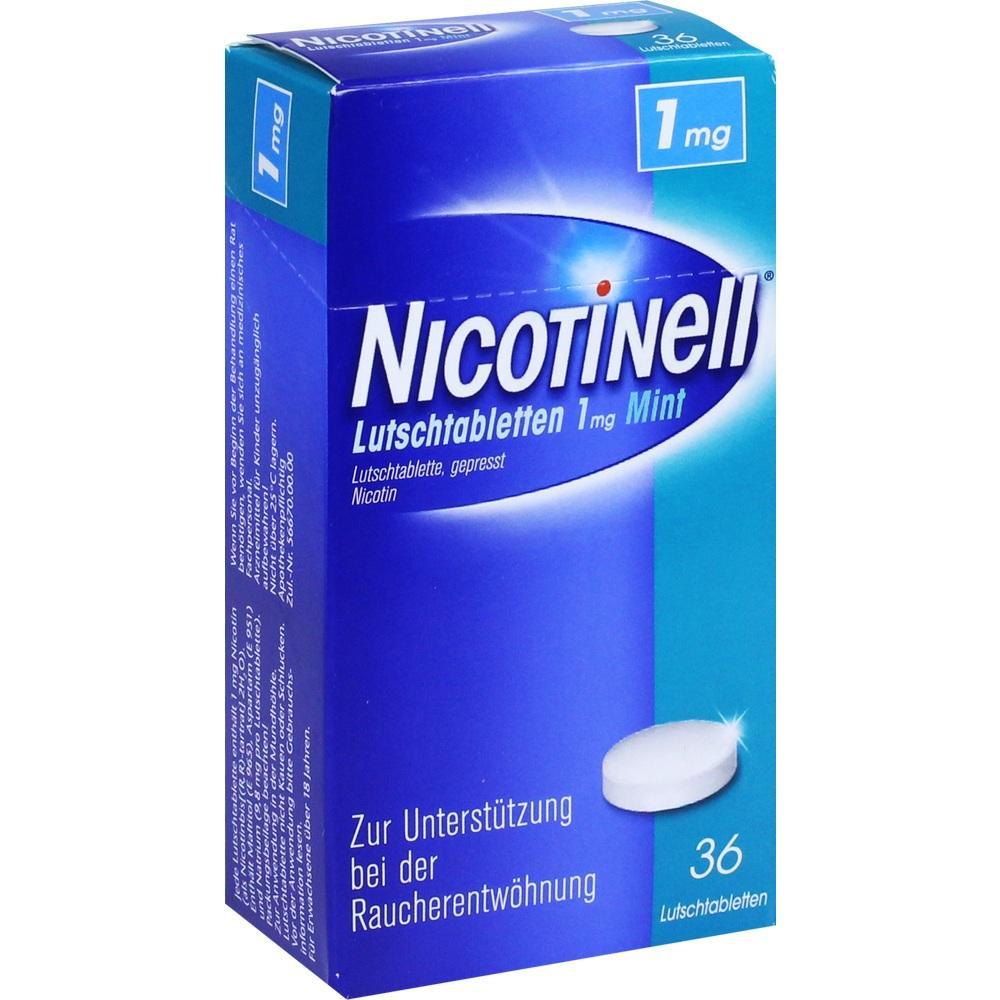 03061835, Nicotinell Lutschtabletten 1mg Mint, 36 ST