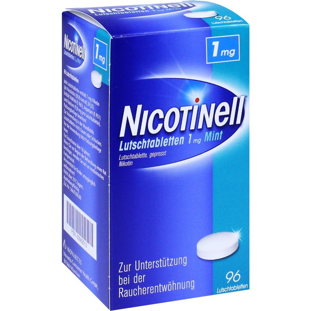 03062013, Nicotinell Lutschtabletten 1mg Mint, 96 ST