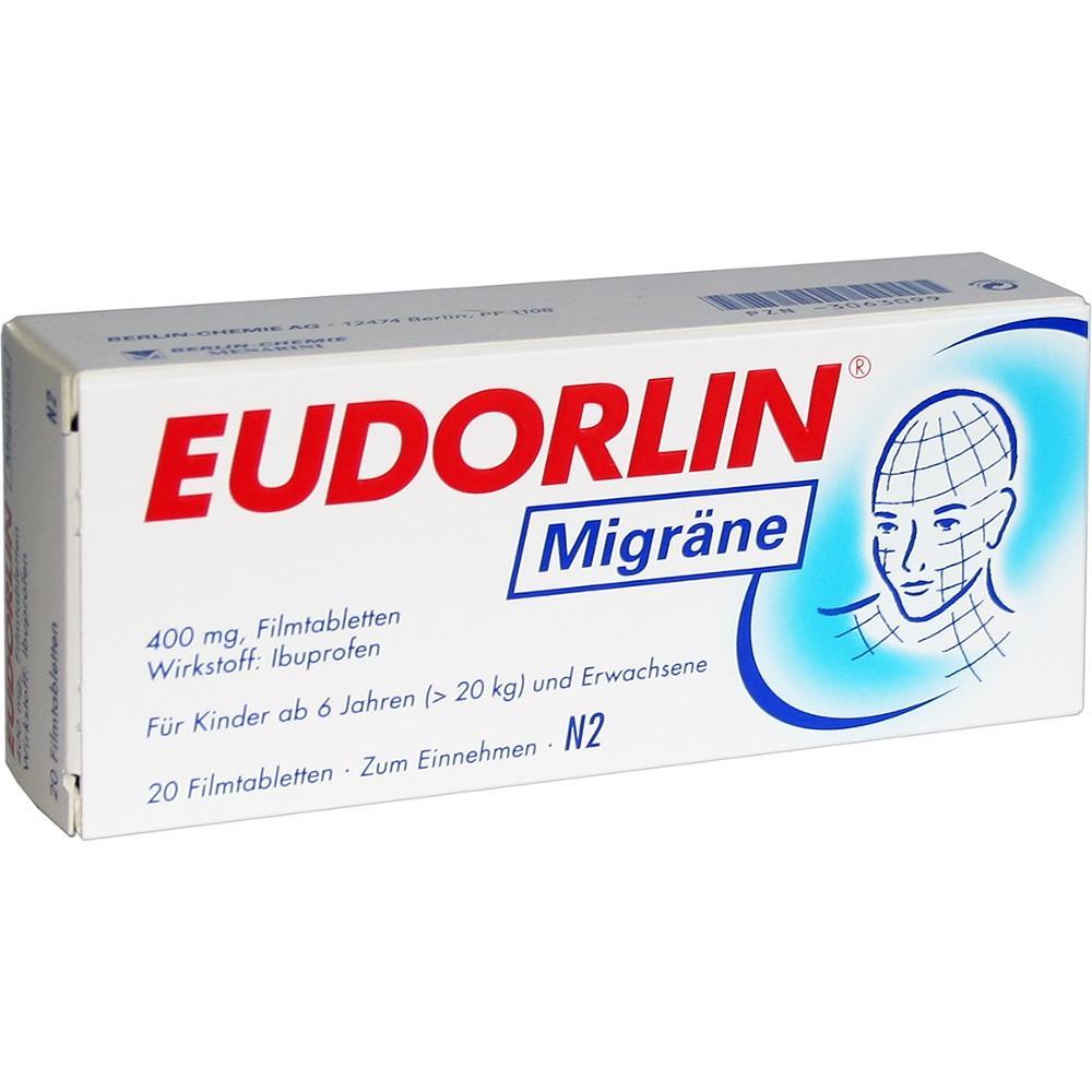 03063099, Eudorlin Migräne, 20 ST