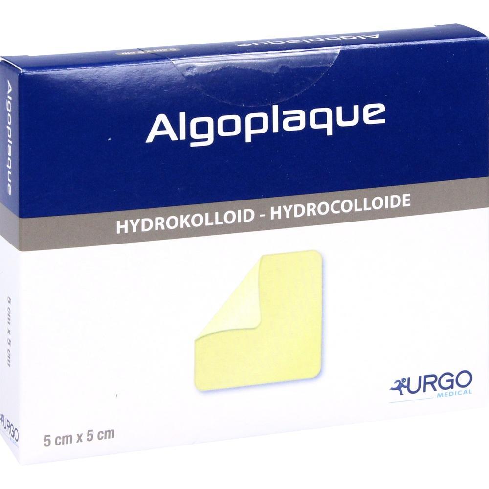 Urgo GmbH ALGOPLAQUE 5x5 cm flexib.Hydrokolloidverb. 03071325