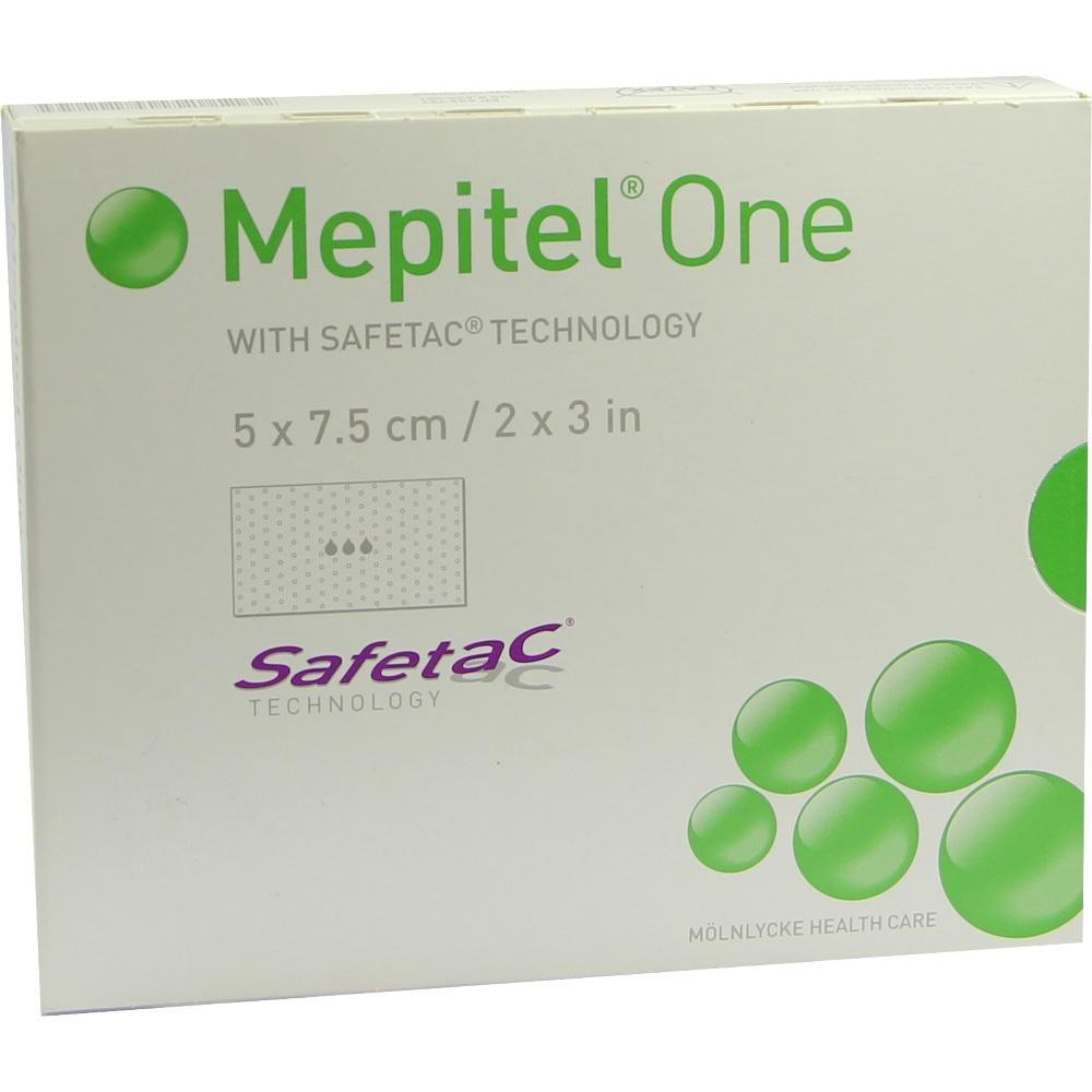 MEPITEL One Silikon Netzverband 5x7,5 cm