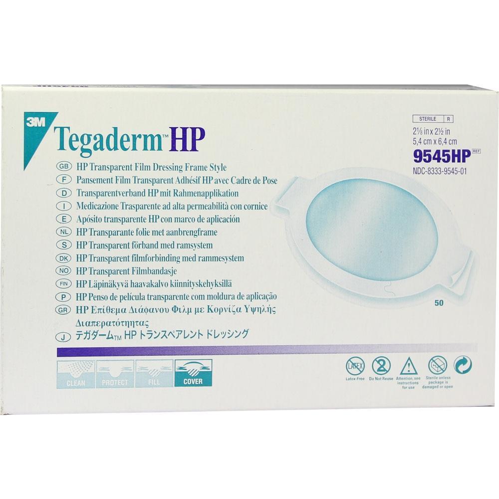 03101121, Tegaderm 3M Transparentverband oval 5.4x6.4cm, 50 ST