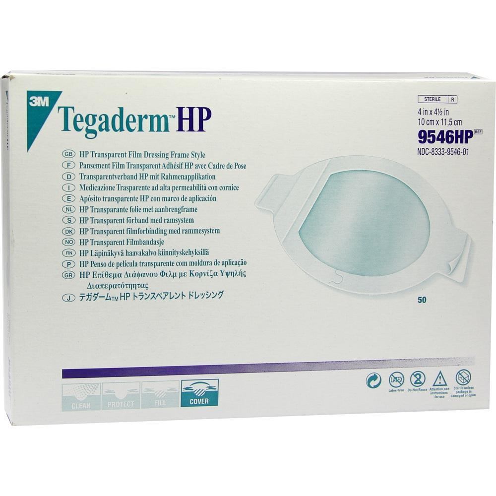 03103545, Tegaderm 3M Transparentverband oval 10.0x11.5cm, 50 ST