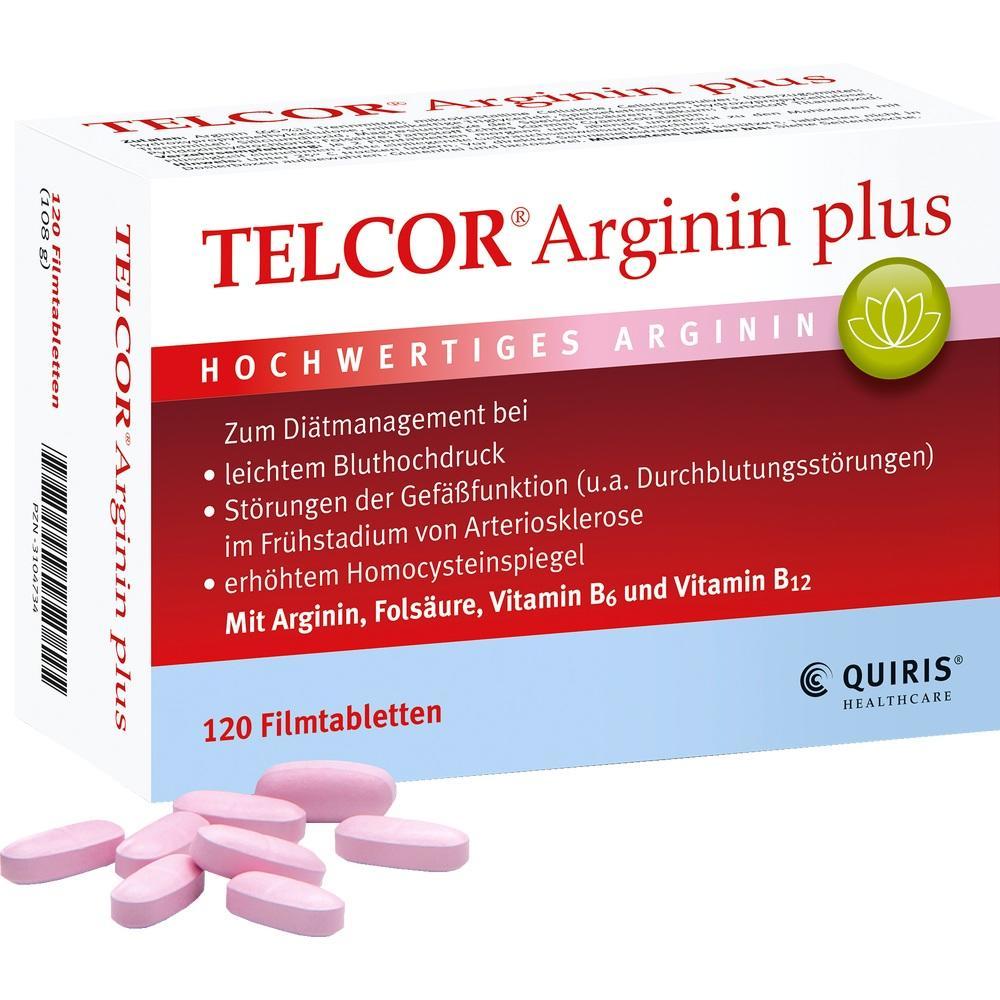 03104734, TELCOR Arginin plus, 120 ST