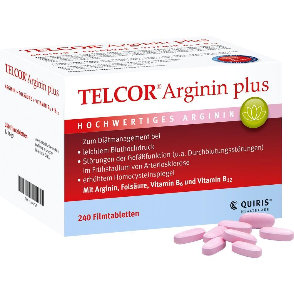 03104757, TELCOR Arginin plus, 240 ST