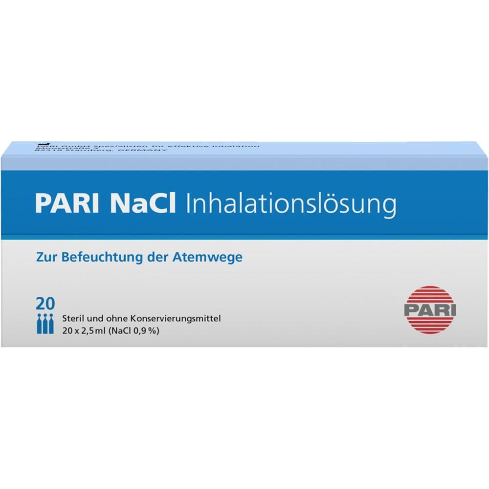 03109789, PARI NaCl Inhalationslösung, 20X2.5 ML