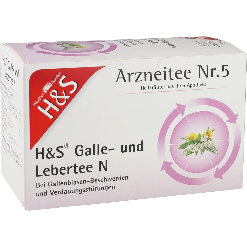 03112389, H&S Galle-und Lebertee N, 20X2.0 G
