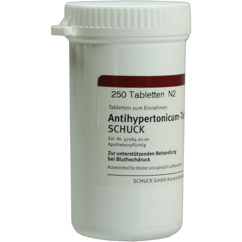 ANTIHYPERTONICUM Tabletten Schuck