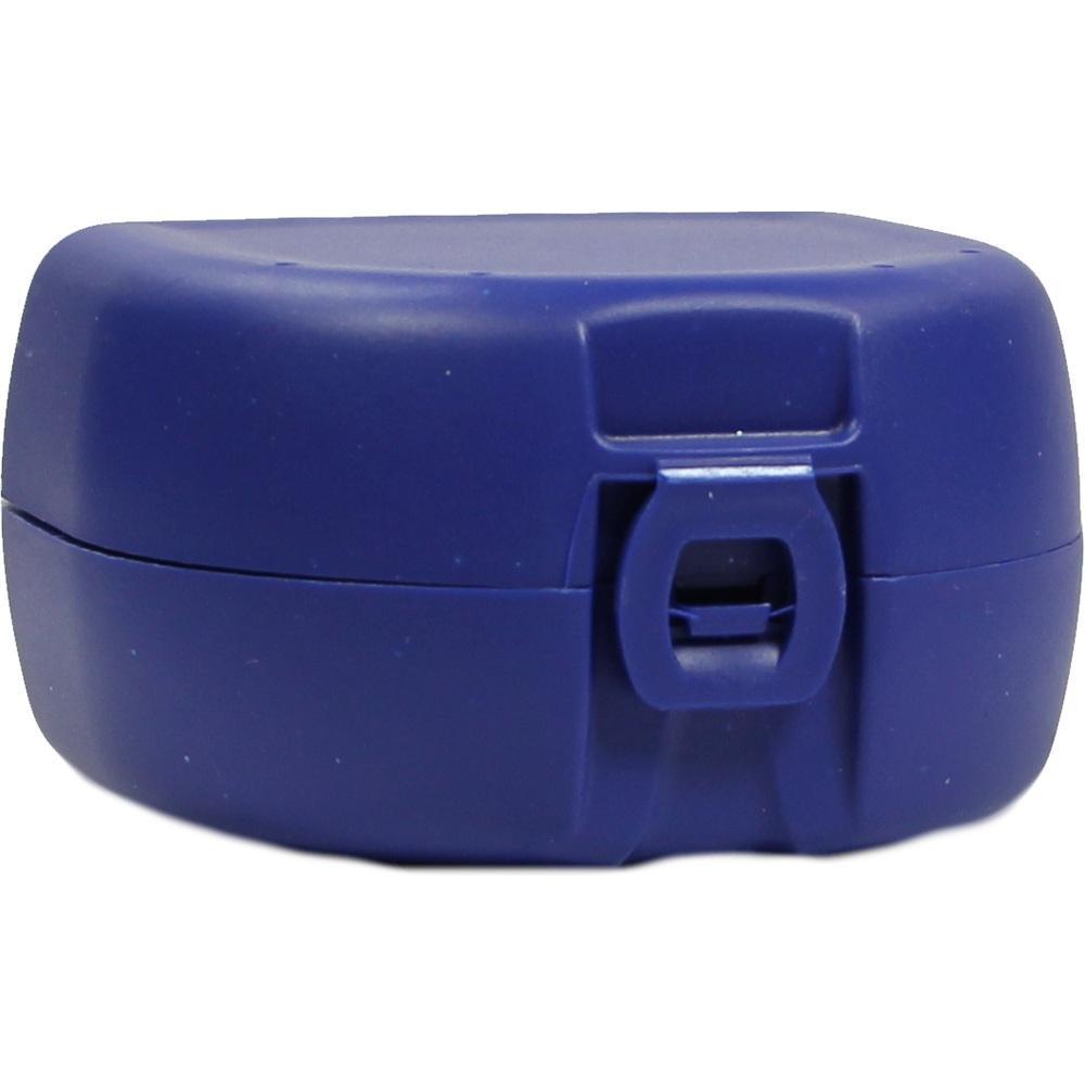 03150616, Prothesen-/Zahnspangenbox universal dunkelblau, 1 ST