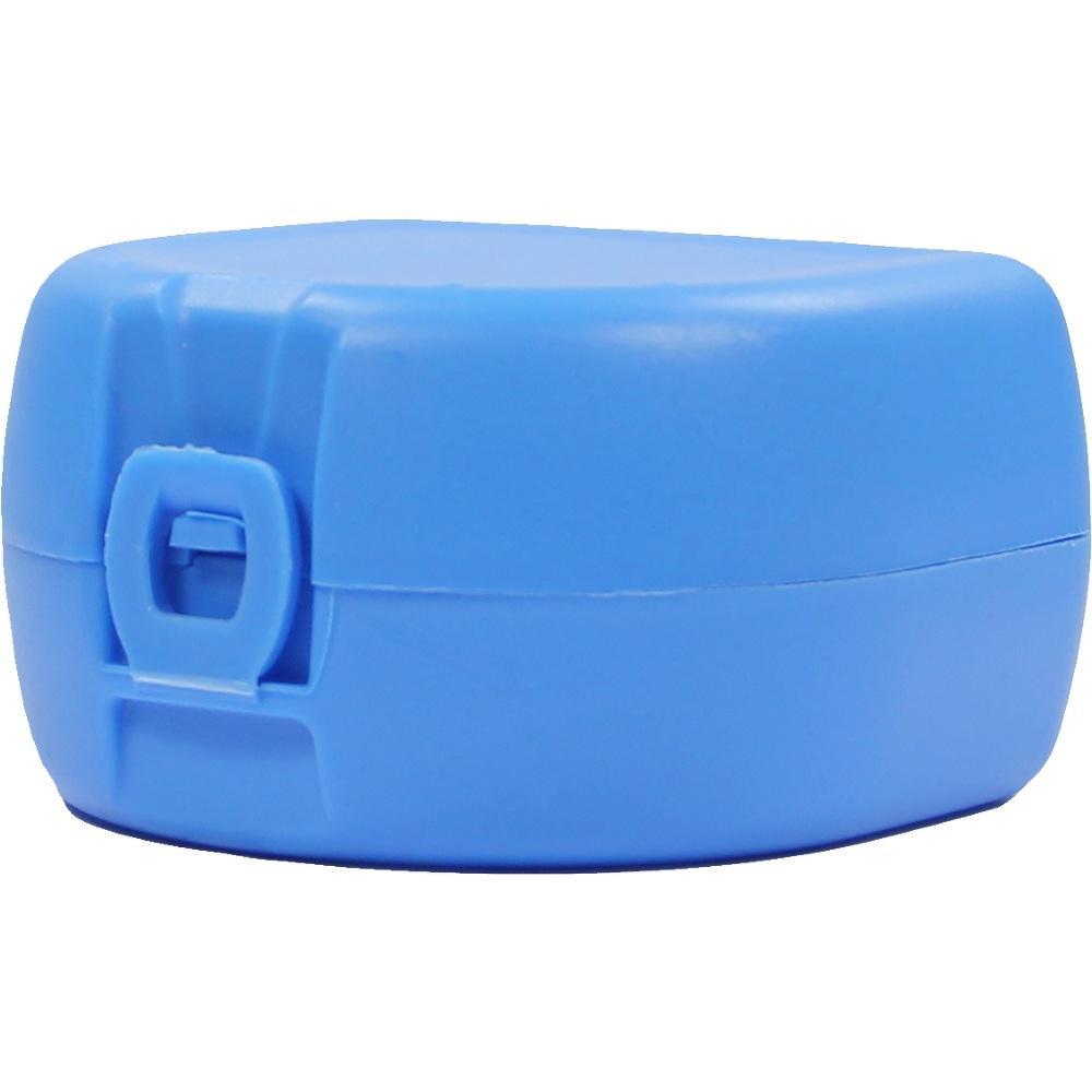 03150622, Prothesen-/Zahnspangenbox universal hellblau, 1 ST