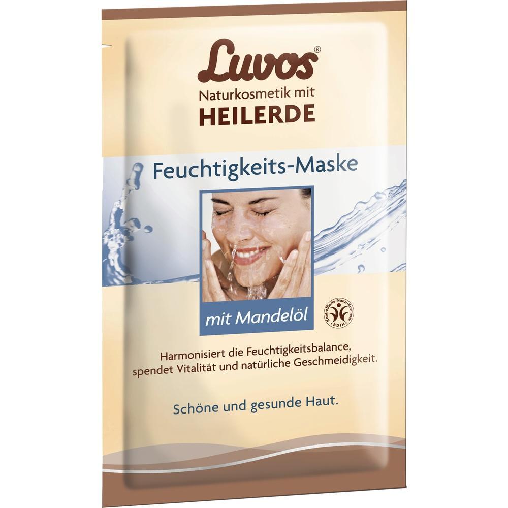 03161790, Luvos Crememaske Feuchtigkeit Gebrauchsfertig, 2X7.5 ML