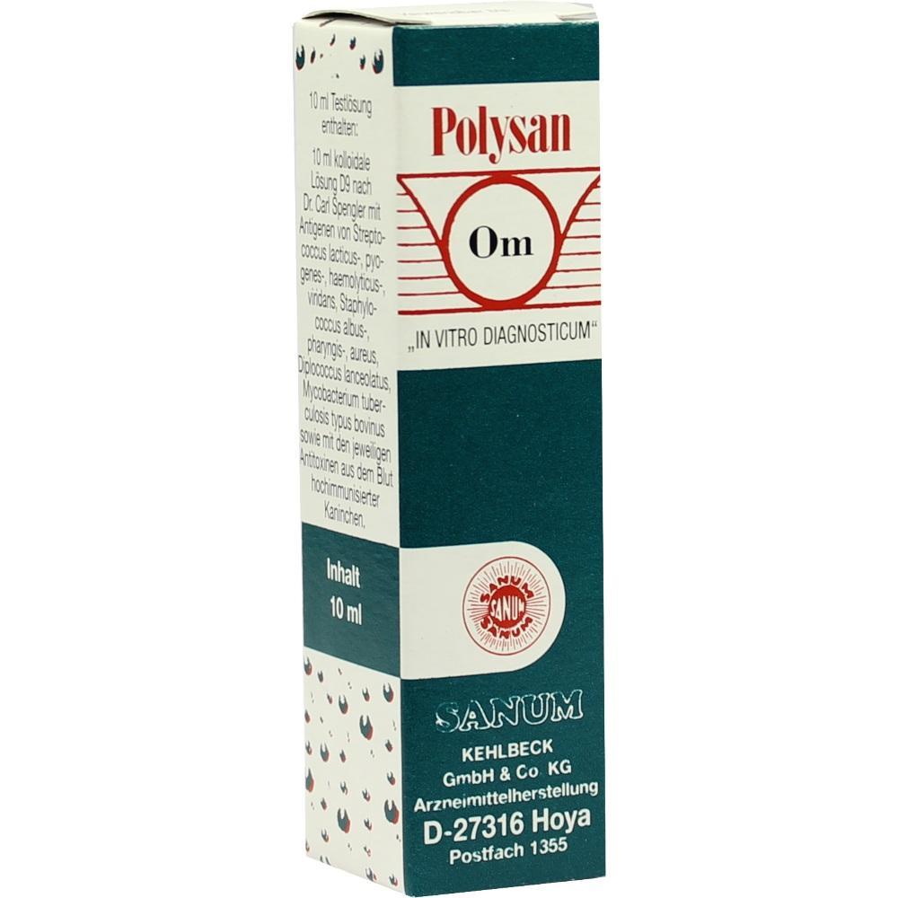 POLYSAN Typ OM kolloidale Lösung D 9 Sanum
