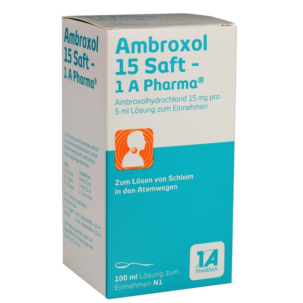 03201319, Ambroxol 15 Saft-1A Pharma, 100 ML