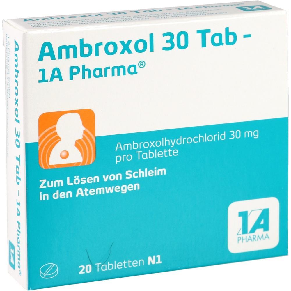03201609, Ambroxol 30 Tab-1A Pharma, 20 ST