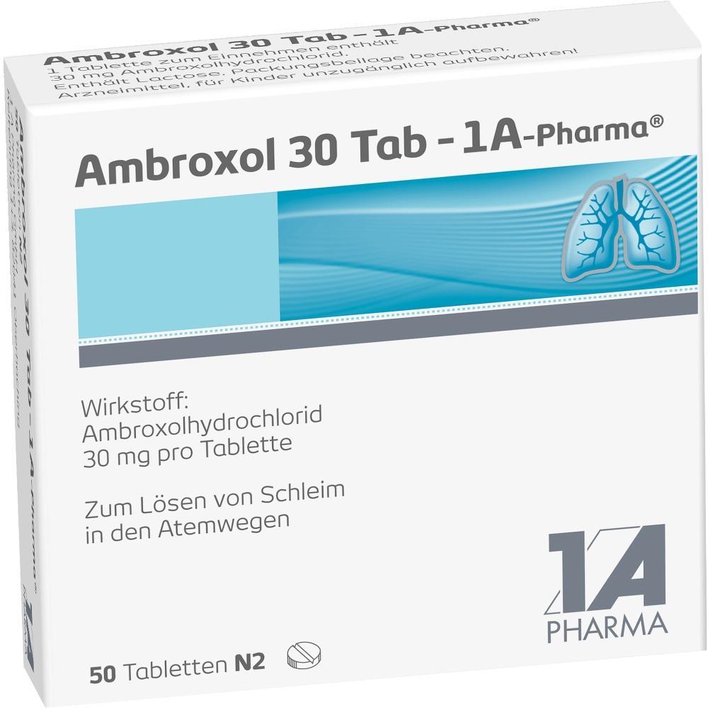 03201880, Ambroxol 30 Tab-1A Pharma, 50 ST