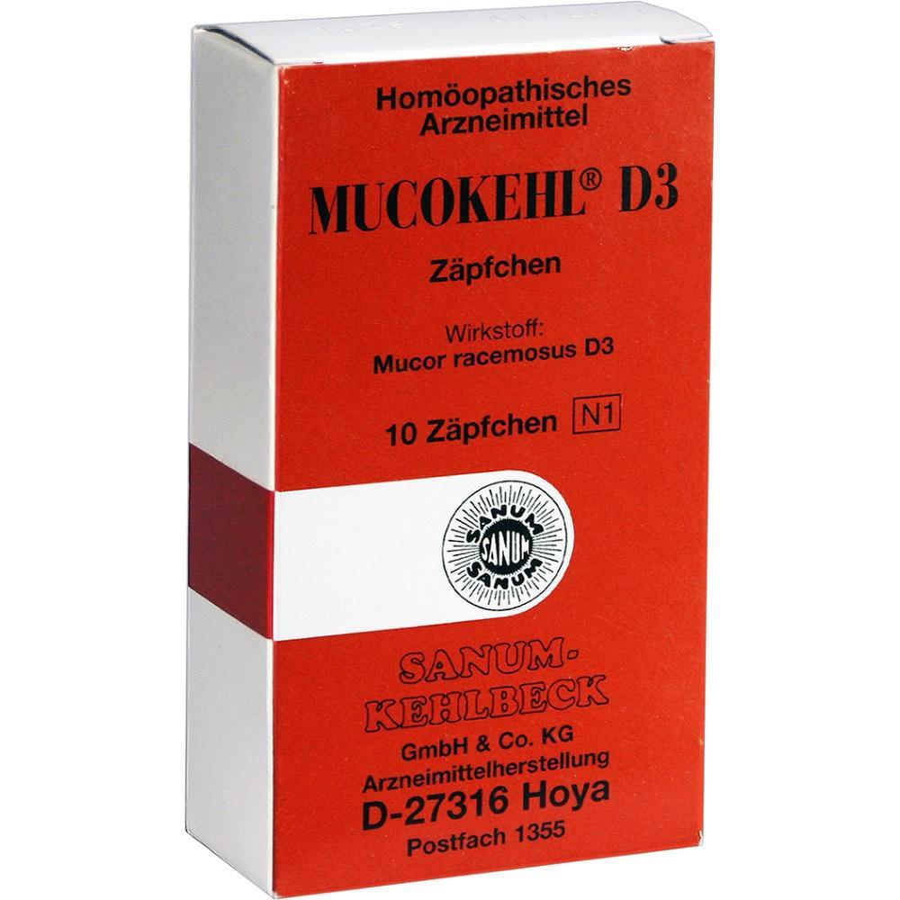 MUCOKEHL Suppositorien D 3