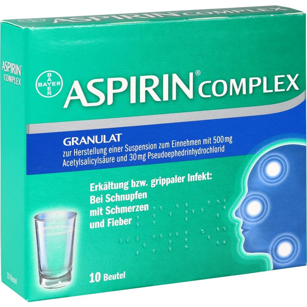 03227112, ASPIRIN COMPLEX Beutel, 10 ST