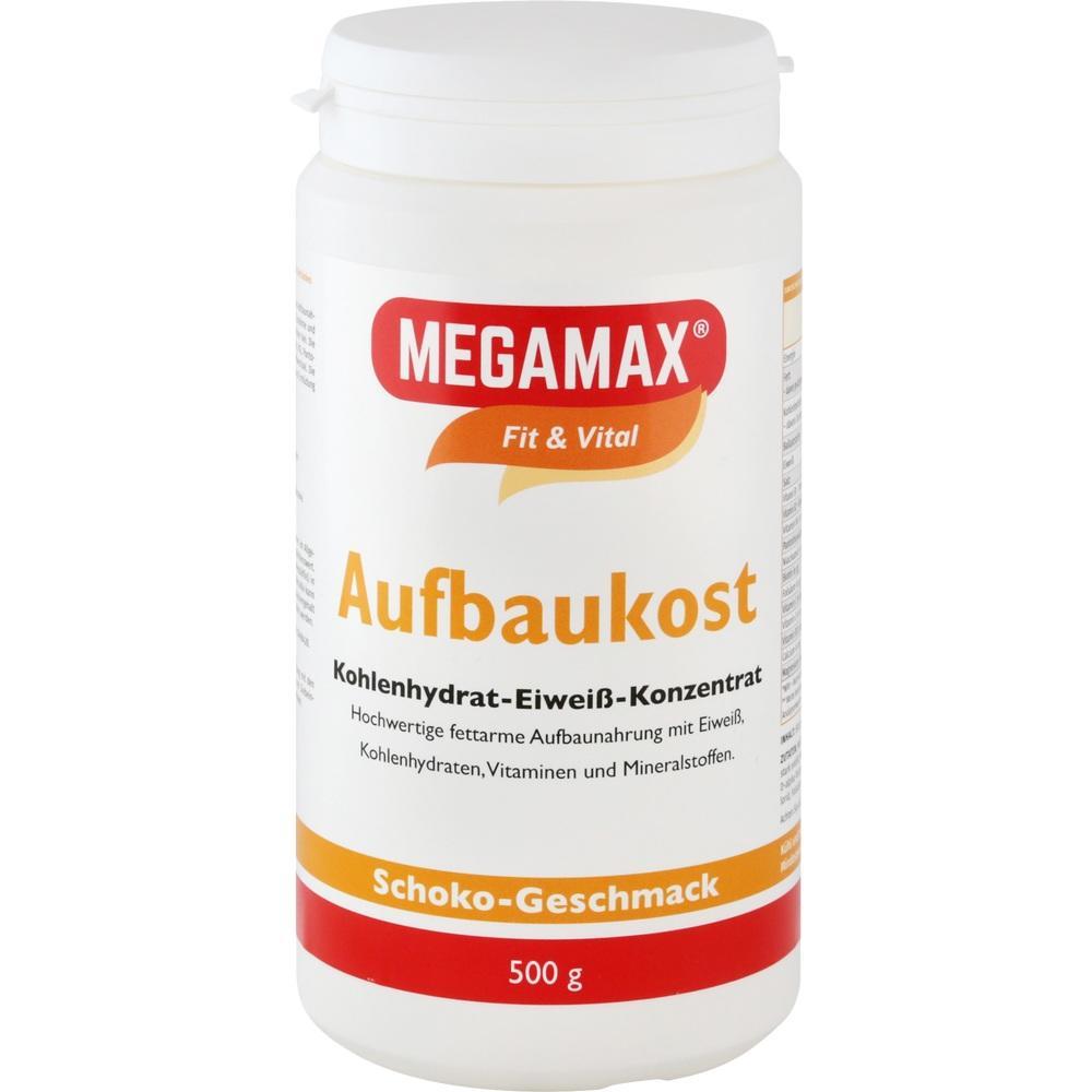 03246569, MEGAMAX Aufbaukost Schoko, 500 G