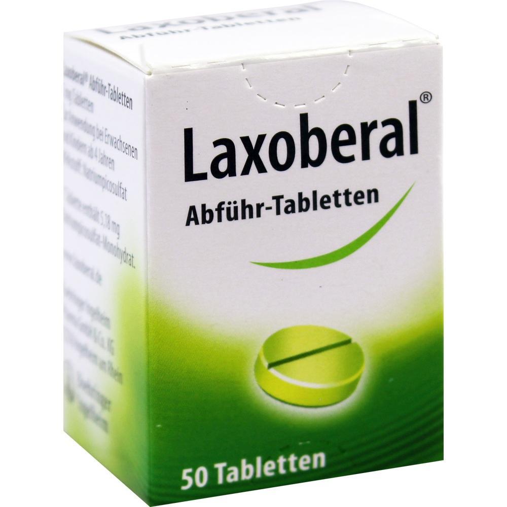 03302919, Laxoberal Abführ Tabletten, 50 ST