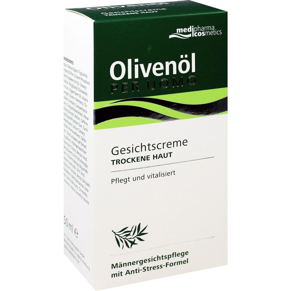 03325234, Olivenöl Per Uomo Gesichtscreme, 50 ML