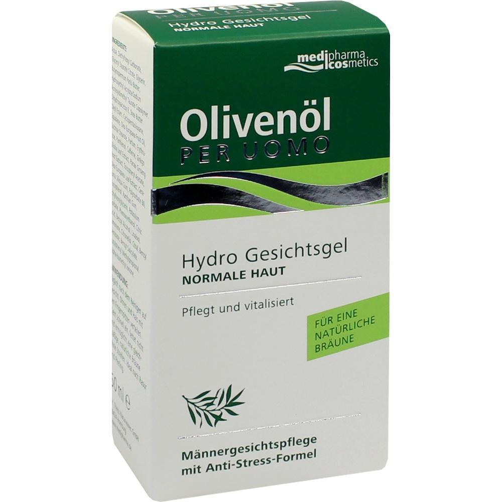 03326564, Olivenöl Per Uomo Hydro Gesichtsgel, 50 ML