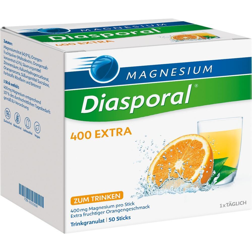 03355608, Magnesium-Diasporal 400 Extra (Trinkgranulat), 50 ST
