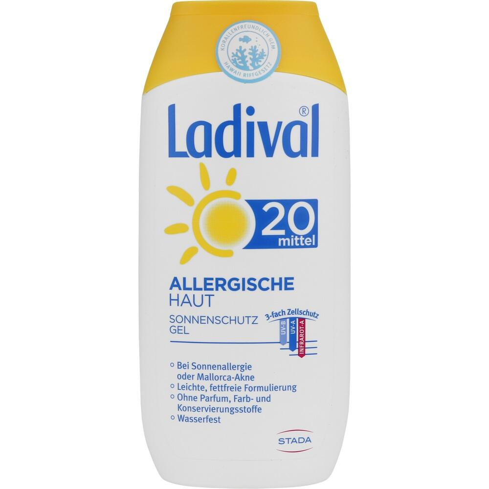 03373463, Ladival allerg. Haut Gel LSF20, 200 ML