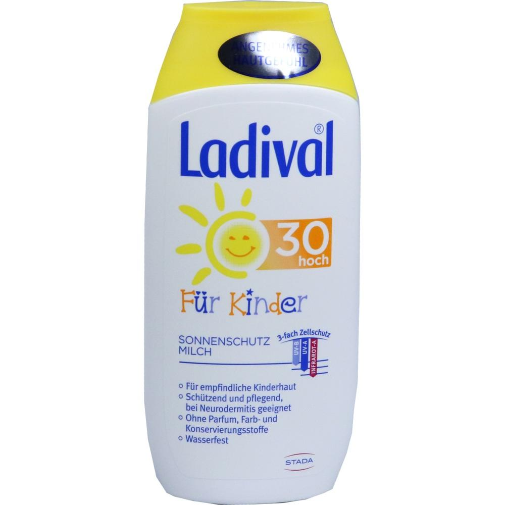 03376645, Ladival Kinder Sonnenmilch LSF30, 200 ML