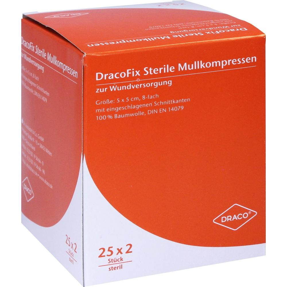 03388097, DRACOFIX PEEL KOM steril 5X5 8fach, 25X2 ST