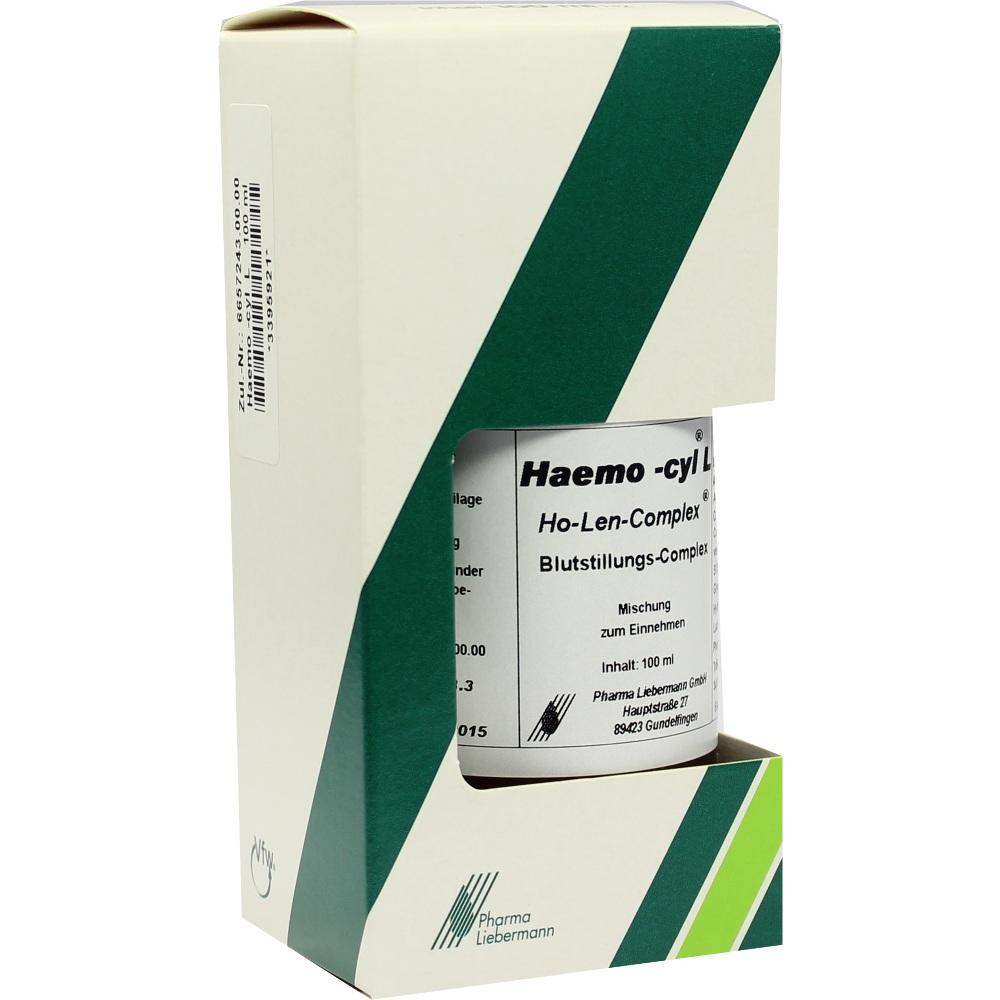 HAEMO CYL L Ho-Len-Complex Tropfen