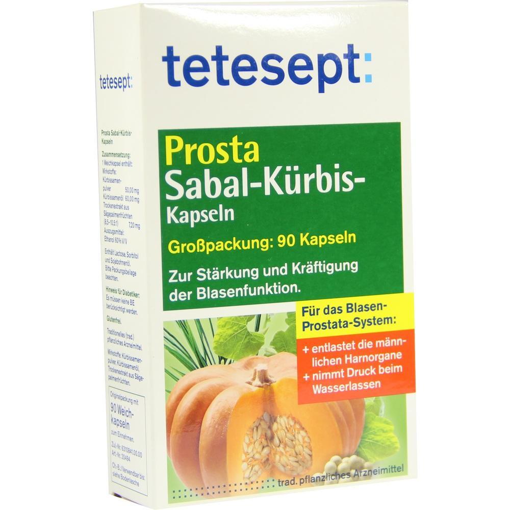 03401685, tetesept PROSTA SABAL-Kürbis, 90 ST