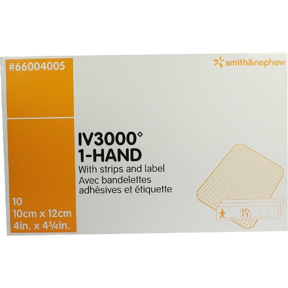 OPSITE IV 3000 10x12 cm transp.Kanülenfixier.