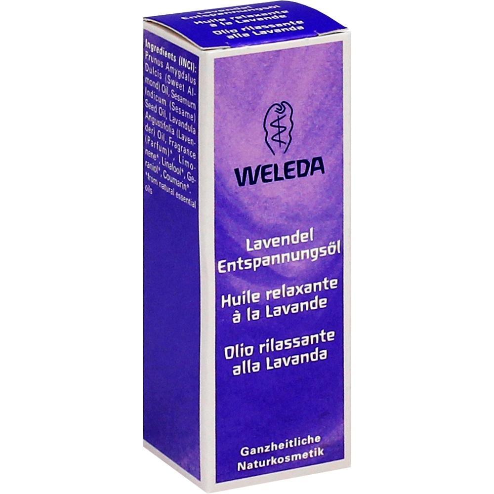 03427733, WELEDA LAVENDEL Entspannungs-Öl, 10 ML