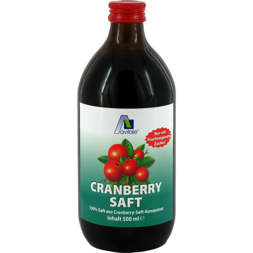 03480489, Cranberrysaft 100% Frucht, 500 ML