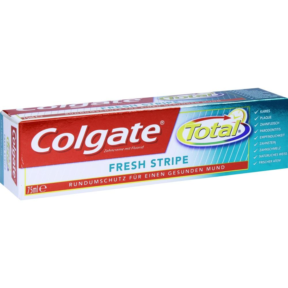 03481483, Colgate Total Fresh Stripe, 75 ML