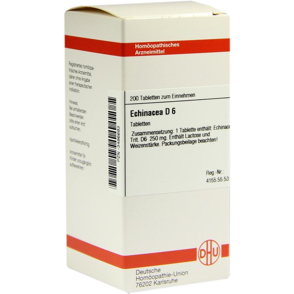 ECHINACEA HAB D 6 Tabletten